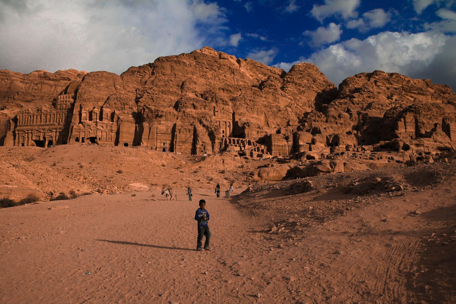 The Inhabitants of Petra, Jordan