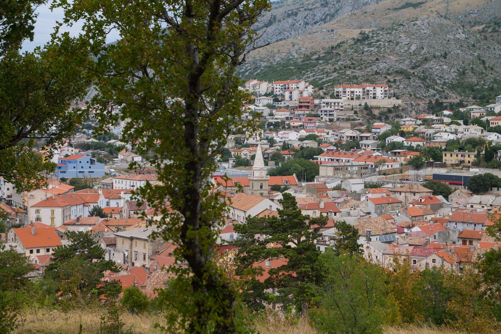Senj from Nehaj Castle