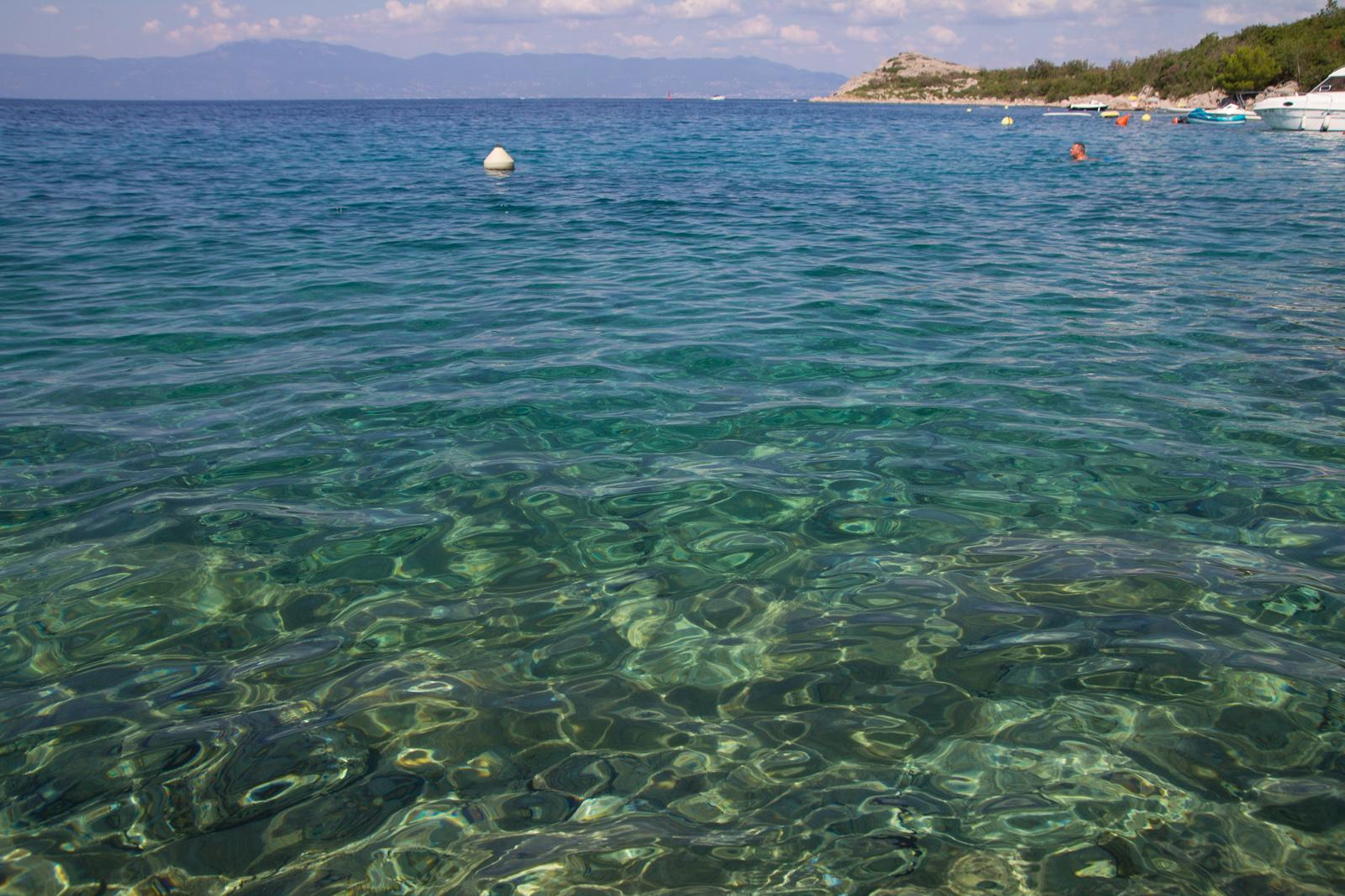 Blue Water at Otok Krk