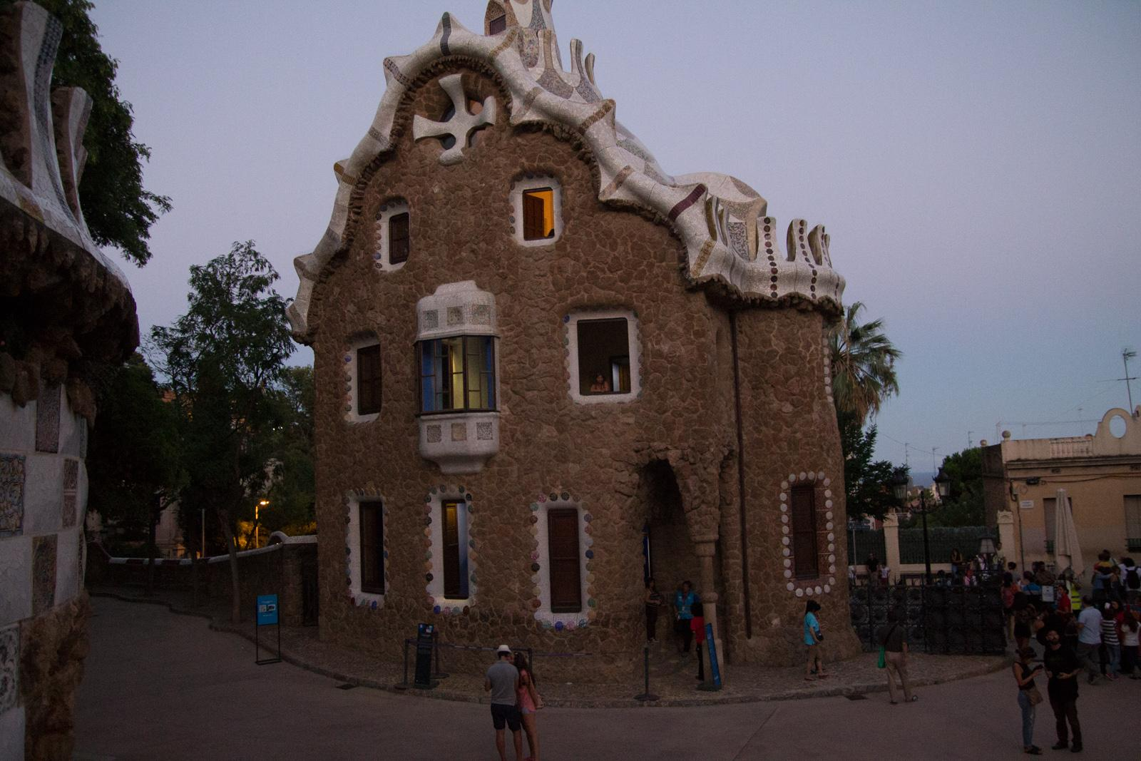 House by Gaudi in Park Güell