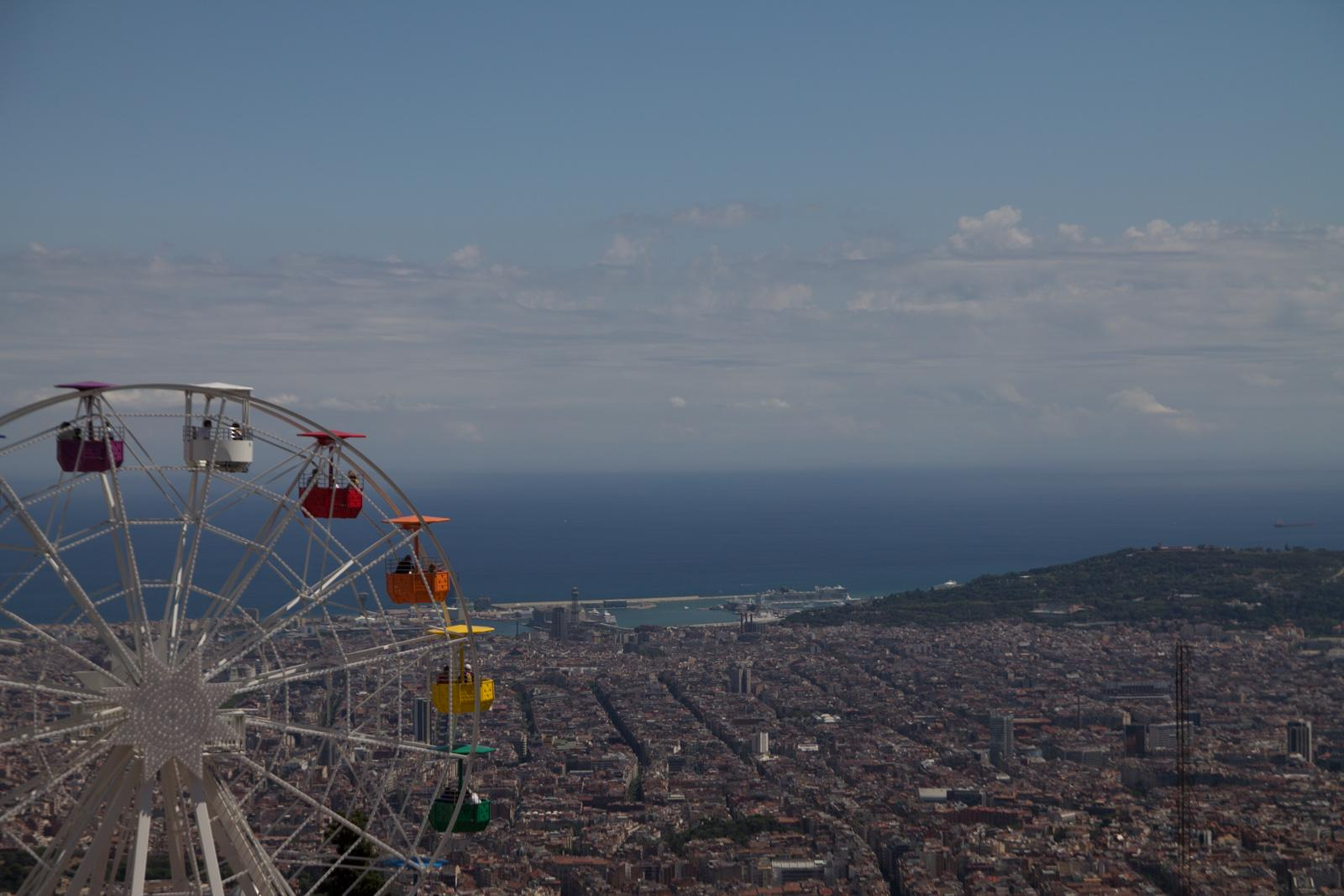 Outlook from Mount Tibidabo #1