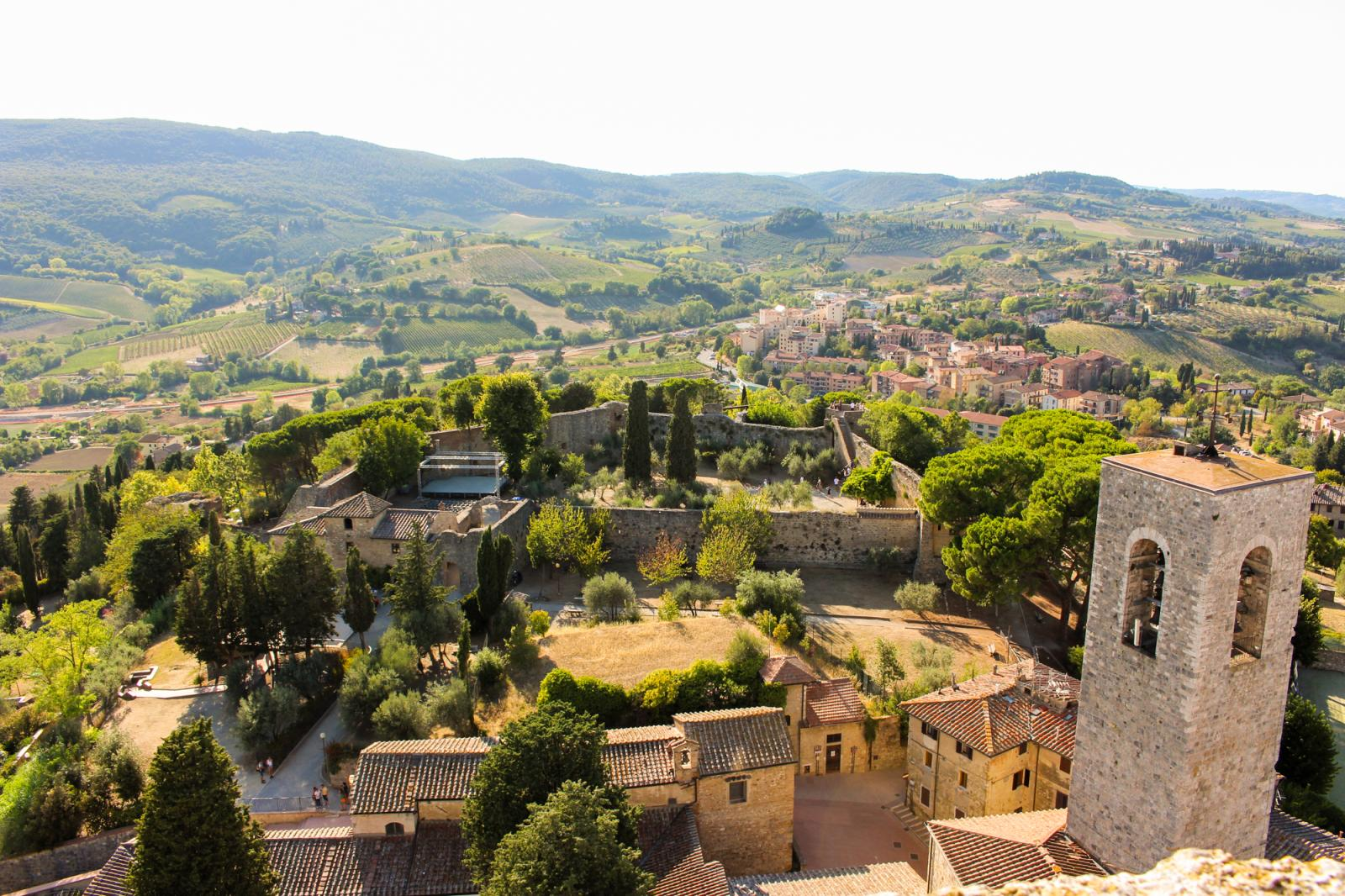 View from San Gimignano #1