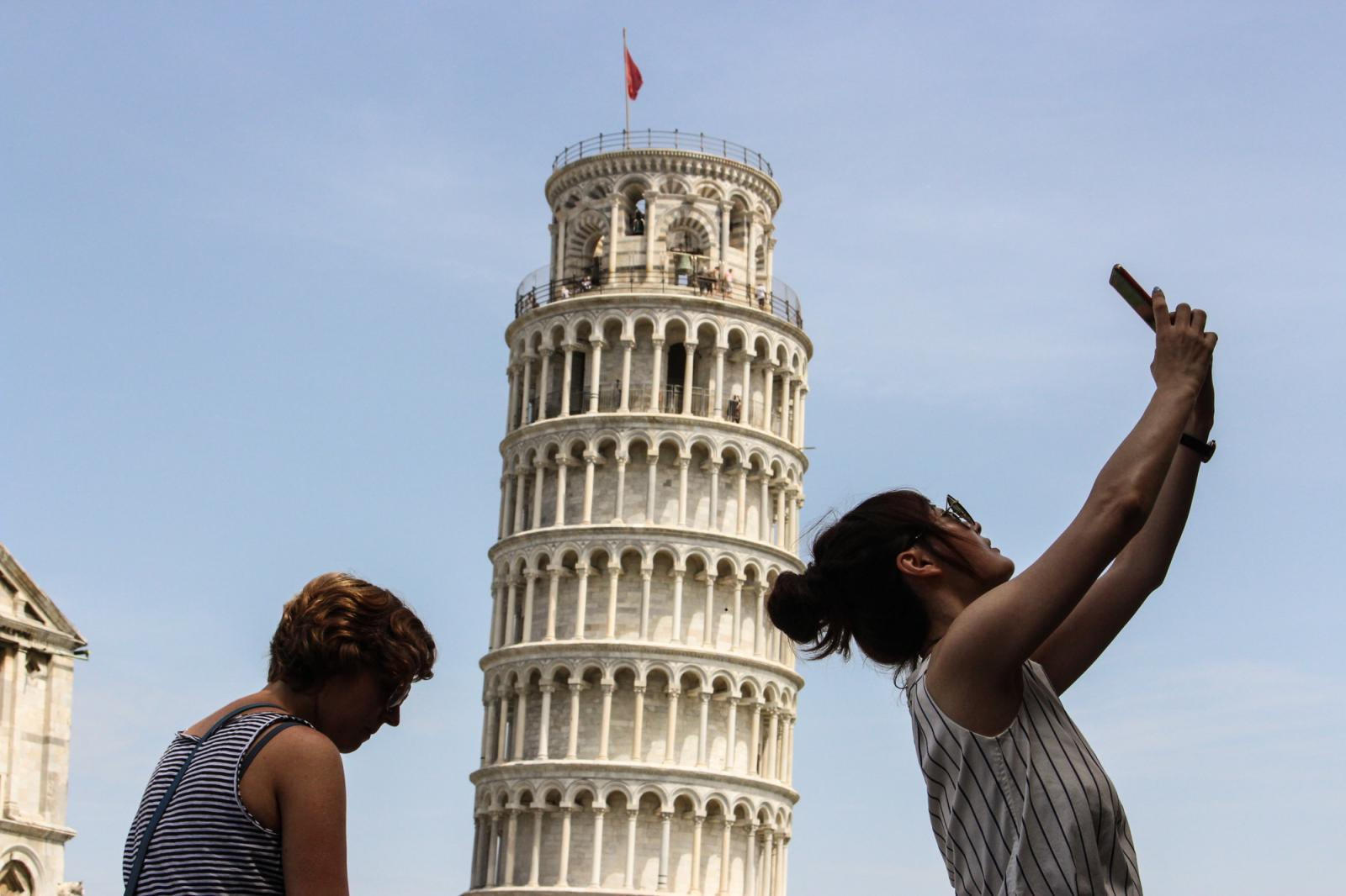 Let's make a foto, Pisa