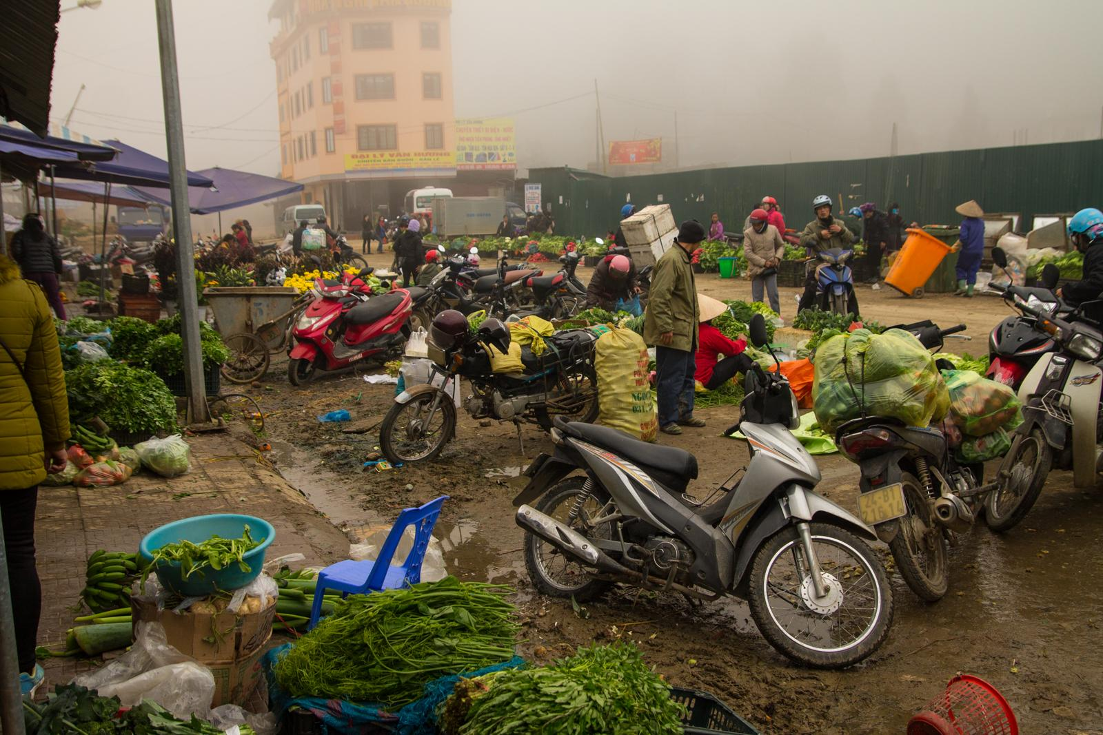Market Place in Sapa