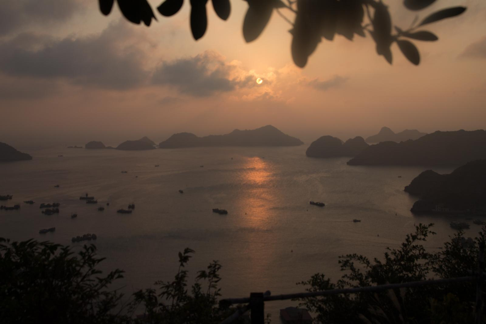 Sunset in Cat Ba
