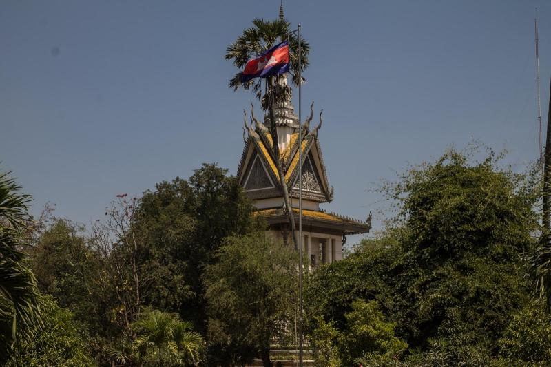 Tragic History - Killing Field near Phnom Penh