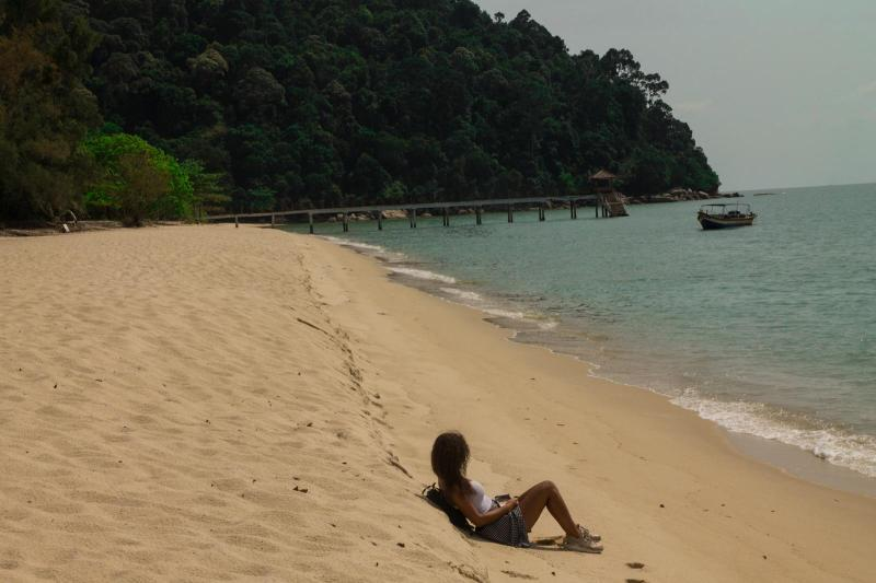 Lonely Beach, Penang National Park