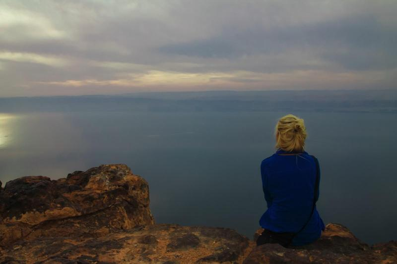 Dead sea: What's over there?