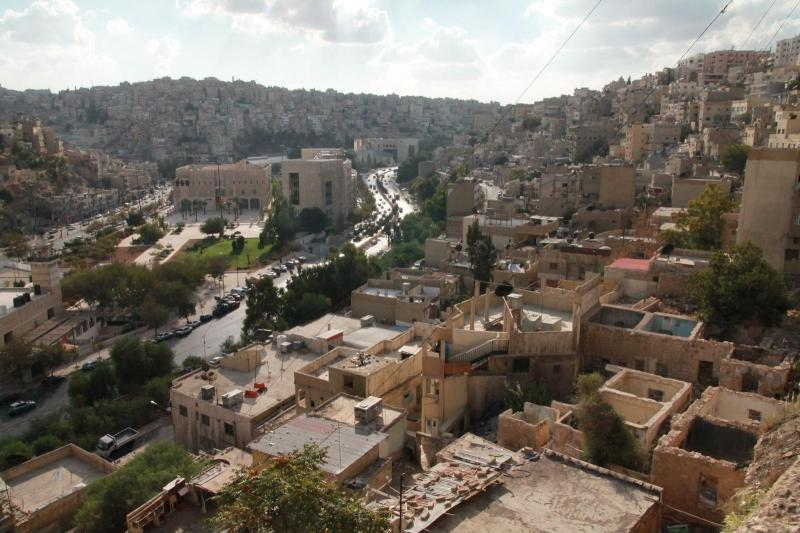 Amman, the city built on hills