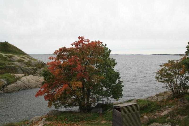 Autumn on Suomenlinna