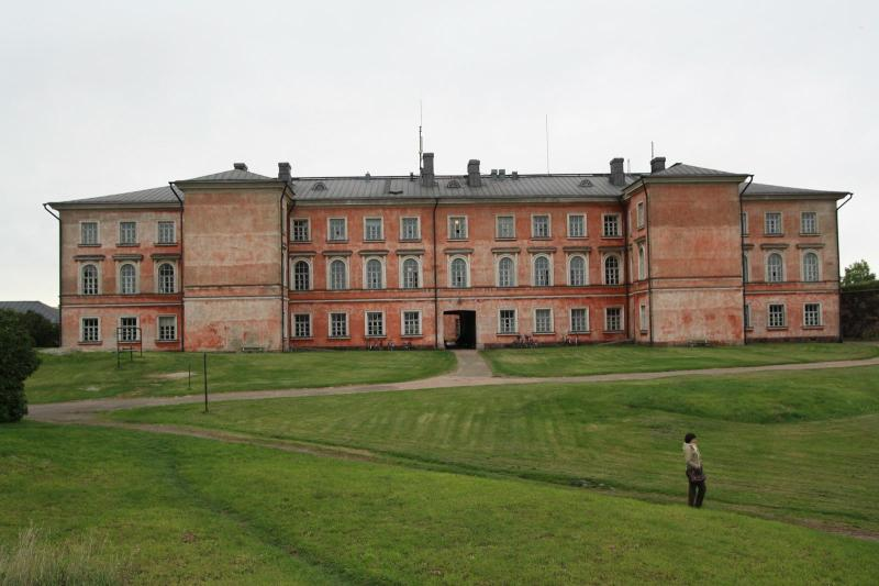 Impressive building on Suomenlinna