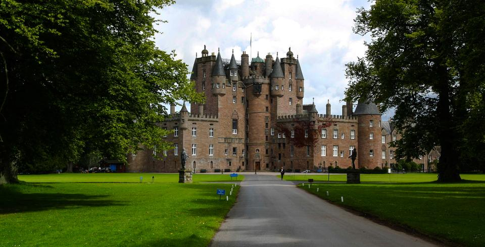 Glamis Castle, Scotland. Taken by Maximilian Boehm
