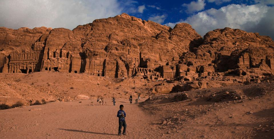 Petra Treasury, view from Monastery. Taken by Maximilian Böhm