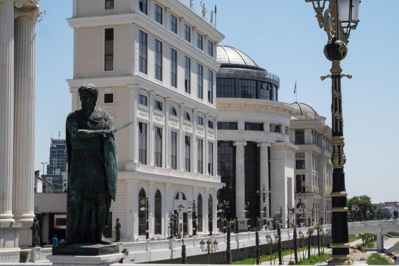 Reintroducing Neoclassical Buildings to Skopje