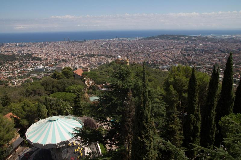 Outlook from Mount Tibidabo #2