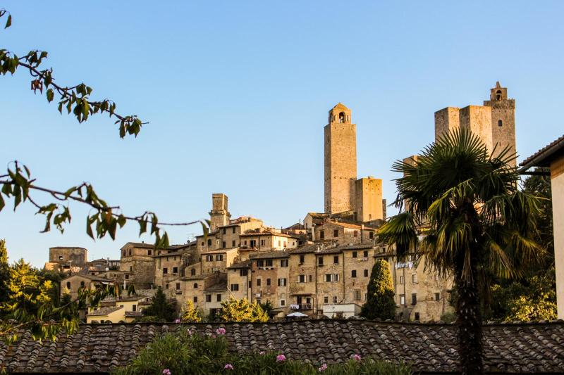 View on the Towers of San Gimignano