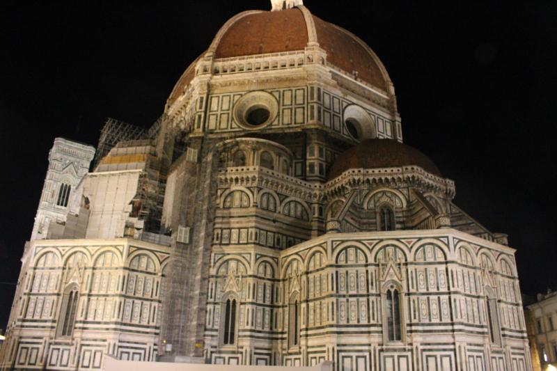 Cathedral at Night, Florence