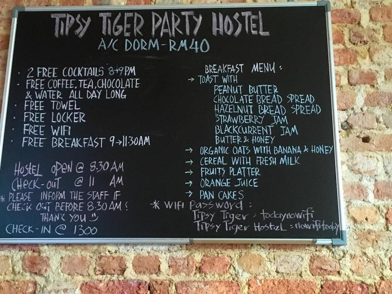 Tipsy Tiger Party Hostel, Georgetown, Penang
