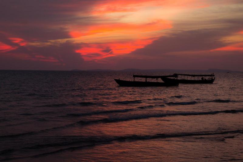 Sunset in Sihanoukville
