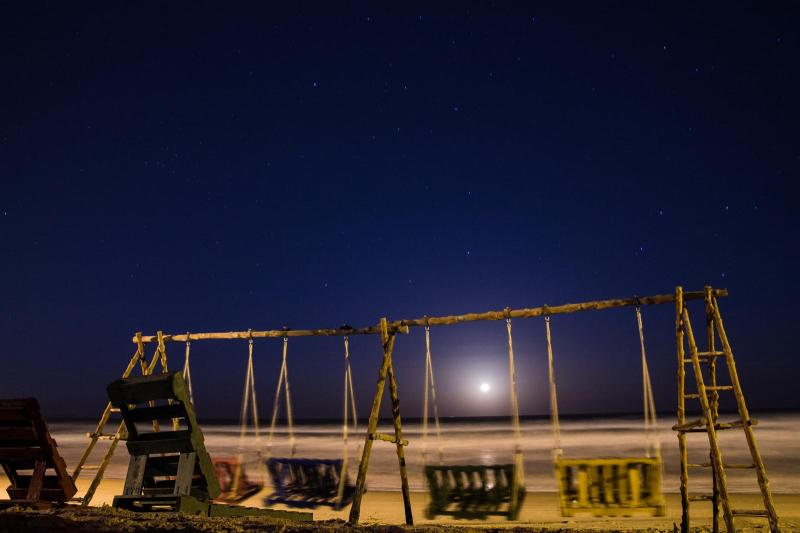 A Swing, the Moon and the Stars
